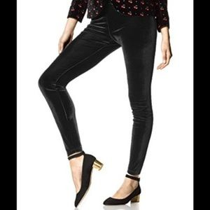 Pants - Black velvet leggings - Small - Mossimo